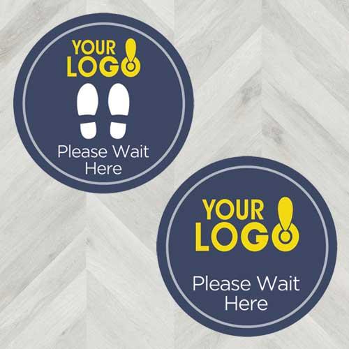 social-distancing-wait-here-floor-sticker-custom-logo-decal