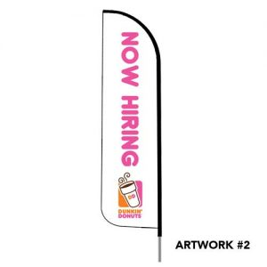 Dunkin-donuts-now-hiring-logo-feather-flag-wht