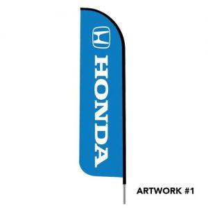 honda-socal-auto-dealer-logo-feather-flag-blue