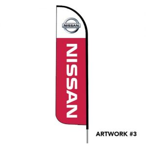 nissan-auto-dealer-logo-feather-flag-red