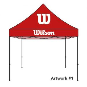 wilson-logo-print-tent-canopy-red
