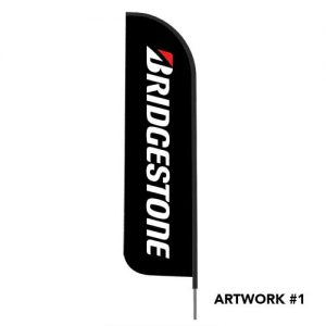 bridgestone-logo-outdoor-feather-flag