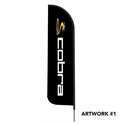 cobra-golf-logo-outdoor-feather-flag