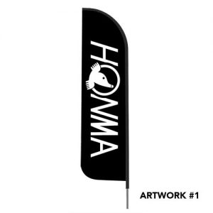honma-golf-logo-outdoor-feather-flag