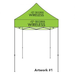 safeline-access-wireless-custom-logo-printed-tent-canopy