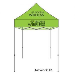 safeline-access-wireless-custom-logo-printed-tent-canopy