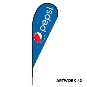 pepsi-pepsico-logo-printed-outdoor-feather-teardrop-flag