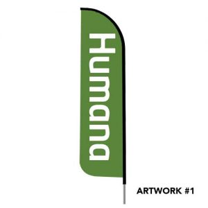 humana-health-insurance-logo-feather-flag-banner