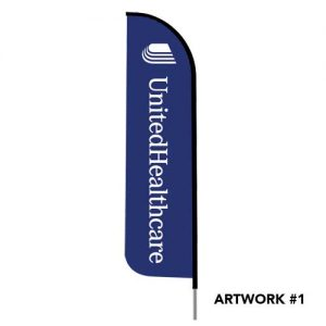 united-healthcare-insurance-logo-feather-flag-banner